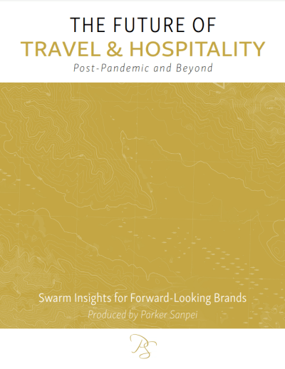 Future of Travel and Hospitality Swarm Study Cover